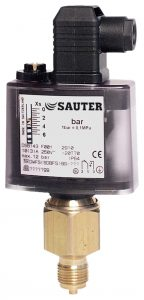 Pressure monitors and pressure switches