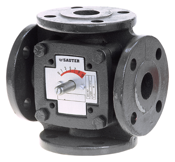 Control valve with flange connection, PN 6