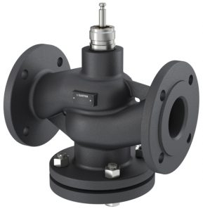 2-way flanged valve, PN 6